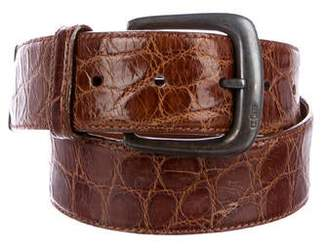 Polo Ralph Lauren Alligator Buckle Belt