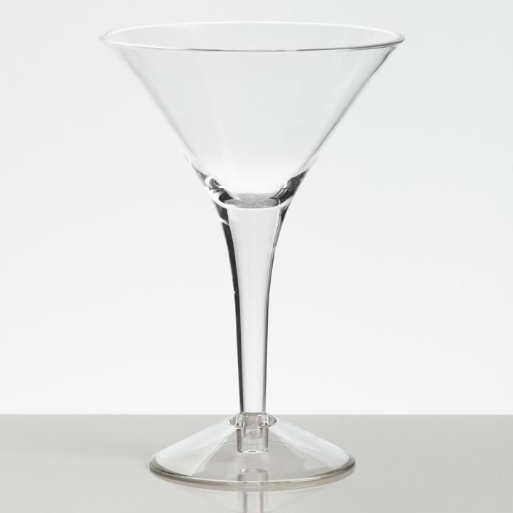 Cost Plus World Market Acrylic Martini Glasses Set of 4