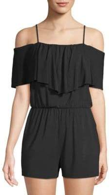 Tart Taci Off-Shoulder Romper