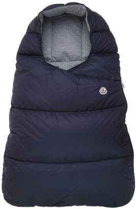 Moncler Nylon Quilted Down Baby Bunting