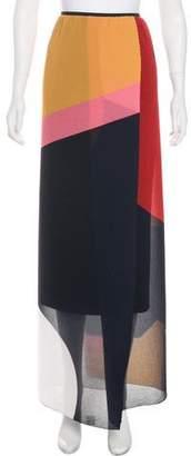 Issa Silk-Blend Skirt