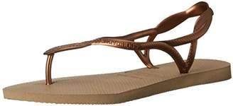 Havaianas Women's Luna Around Ankle Straps Roman Sandal