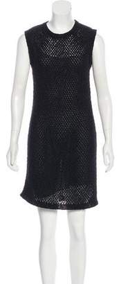 Chanel Sleeveless Open Knit Dress