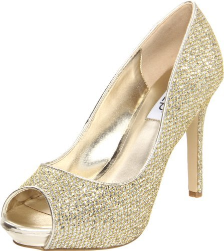 rsvp Women's Brenna,Gold,9 M US
