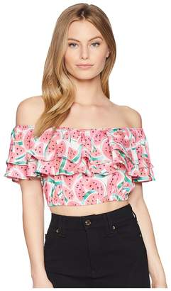 Show Me Your Mumu Kaya Crop Top Women's Clothing