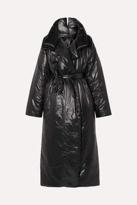 Norma Kamali Sleeping Bag Oversized Shell Coat - Black
