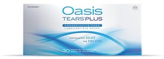 Oasis TEARS PLUS Lubricant Eye Drops Relief For Dry Eyes, 30 Count Box Sterile Disposable Containers (Pack of 2) $41.99 thestylecure.com