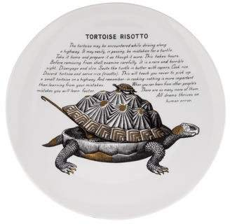 Fornasetti Piero Vintage Tortoise Risotto Plate