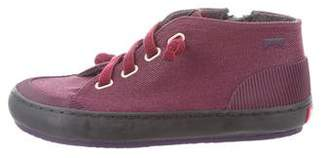 Camper Girls' Canvas High-Top Sneaker w/ Tags