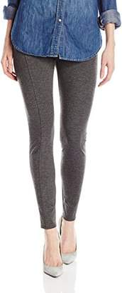 Three Dots Women's Seamed Ponte Leggings