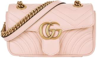 Gucci Mini Marmont Chevron Shoulder Bag