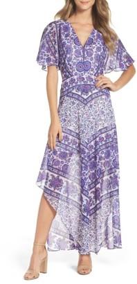 Women's Adelyn Rae Kassandra Maxi Dress $130 thestylecure.com