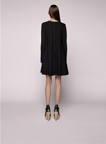 Proenza Schouler Long Sleeve V-neck Dress