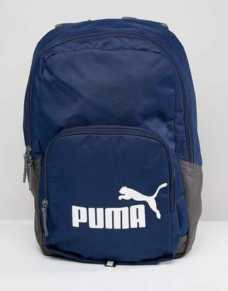 Puma Phase Backpack In Navy 07358902