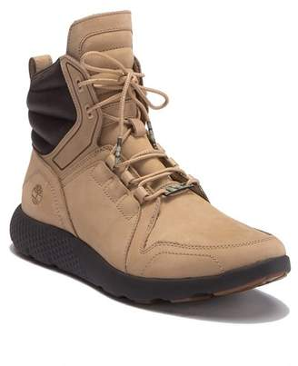 Timberland Flyroam Leather Hi-Top Sneaker Boot