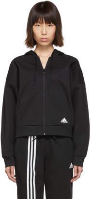 adidas Black 3-Stripes Athletics Hoodie