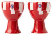 Fan-Shop Bayern München FC Bayern München Eierbecher, 2er-Set, mit Löffeln