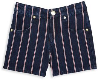 Little Marc Jacobs Little Girl's and Girl's Striped Denim Shorts