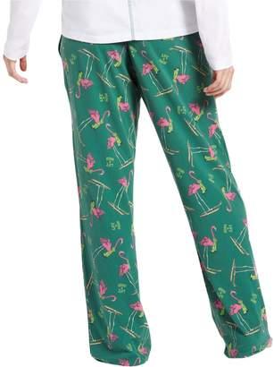 Life is Good Women's Classic Skiing Flamingo Sleep Pants