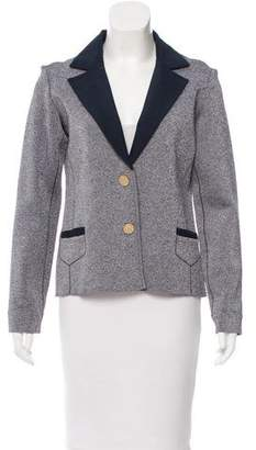 Zac Posen Z Spoke by Notch-Lapel Knit Blazer w/ Tags