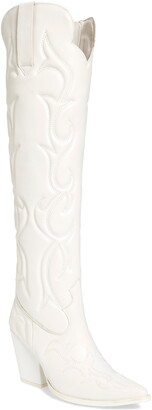 Jeffrey Campbell Amigos Over the Knee Western Boot