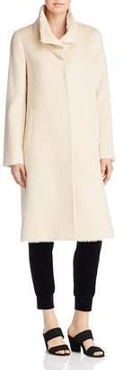 Eileen Fisher Textured High-Collar Coat