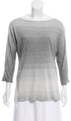Maison Margiela Oversize Cold-Shoulder Top