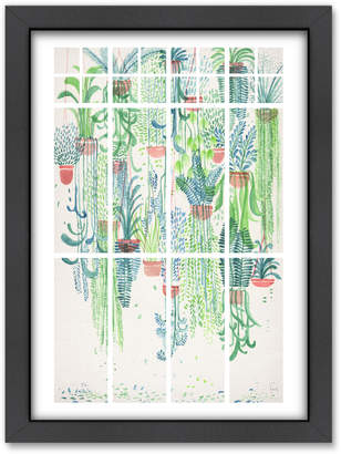 Americanflat Winter In Glass Houses 2 Printed Wall Art