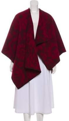 Burberry Wool-Blend Poncho