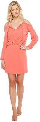 MICHAEL Michael Kors Matte Jersey Cold Shoulder Dress Women's Dress