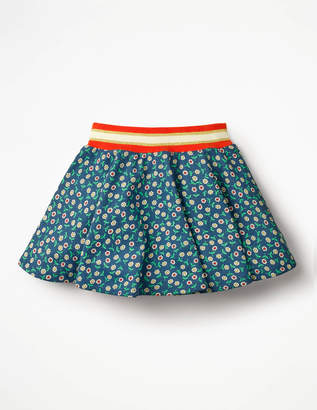 Boden Colourful Skater Skirt