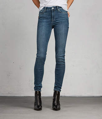 AllSaints Grace Vintage Skinny Jeans