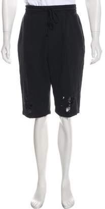 Miharayasuhiro Distressed Jogger Shorts