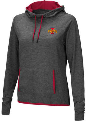 Colosseum Women's Iowa State Cyclones Cowl Neck Hooded Sweatshirt
