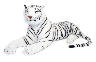 Melissa & Doug Plush Animal Tiger White