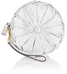 Anya Hindmarch Women's Pillow Leather Clutch - Silver