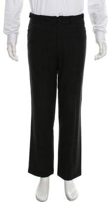 Adam Kimmel Wool Flat Front Dress Pants