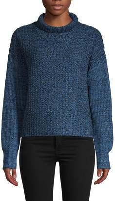 John & Jenn John + Jenn Long-Sleeve Textured Sweater