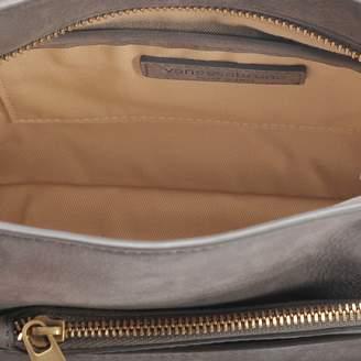 Vanessa Bruno Eclipse Clutch Bag in Acier Cowhide