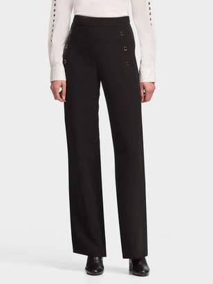 DKNY Sailor Pant With Grommets