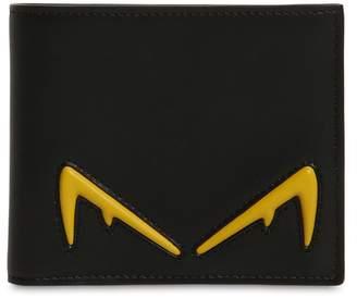 78a5ccdf9aa7 Fendi Diabolik Eyes Classic Leather Wallet