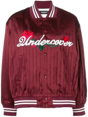 Undercover satin bomber jacket