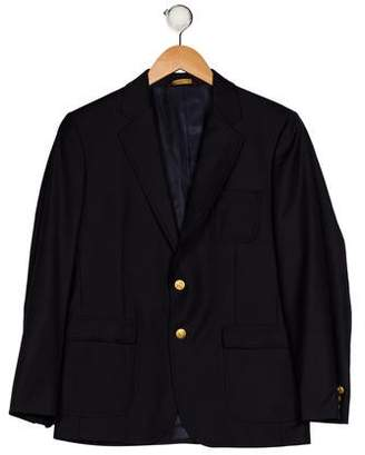 Brooks Brothers Notched-Lapel Wool Blazer