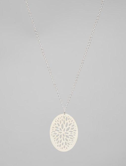 kris nations Deco Crescent Necklace