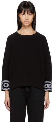 Kenzo Black Logo Sport Sweater
