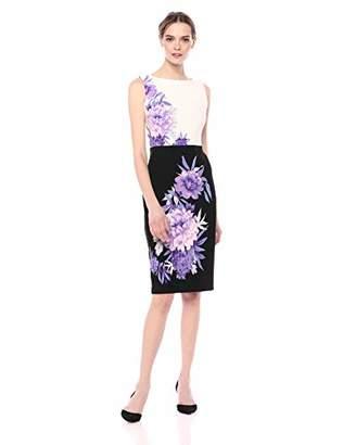 Gabby Skye Women's Floral Midi Dress