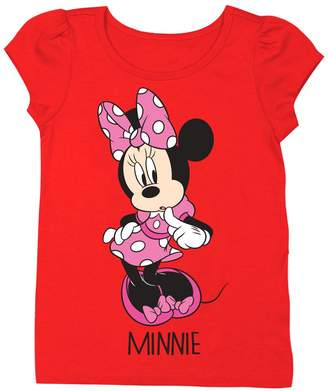 Freeze Minnie Mouse Tee (Toddler & Little Girls)
