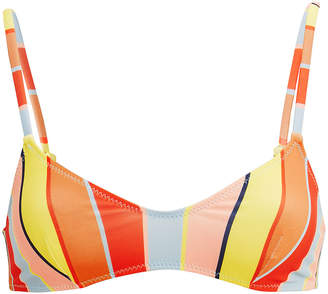 Solid & Striped Rachel Cabana Striped Bikini Top