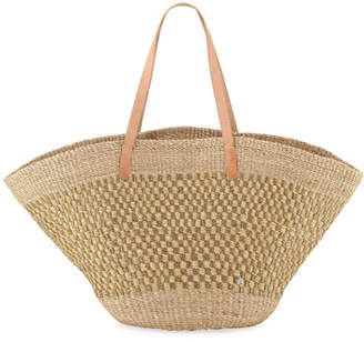 Flora Bella Nisida Abaca Shoulder Tote Bag