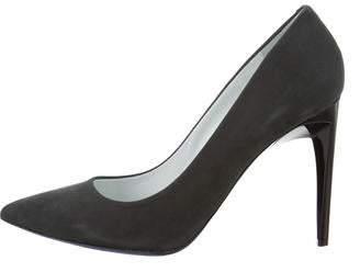 Proenza Schouler Suede Pointed-Toe Pumps w/ Tags